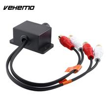 Vehemo Car Automobile Home Audio Amplifier Bass RCA Gain Level Remote Volume Knob LC-1