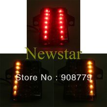 Free Shipping Motorcycle LED Tail Light for Suzuki SV 650/SV 1000 03-08 Smoke Casing Top quality Guaranteed 100%