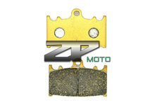 For KAWASAKI VN 1700 Vulcan Voyager 2009 09 ZZR 1200(ZX 1200 C1-C3) 2002-2004 03 Front Organic Brake Pads Brand New High Quality