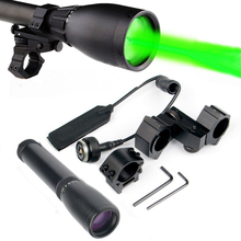 Green Laser Hunting Sight Sunsfire ND-30 Laser Designator Long Distance Laser Light Sight Adjustable Beam K