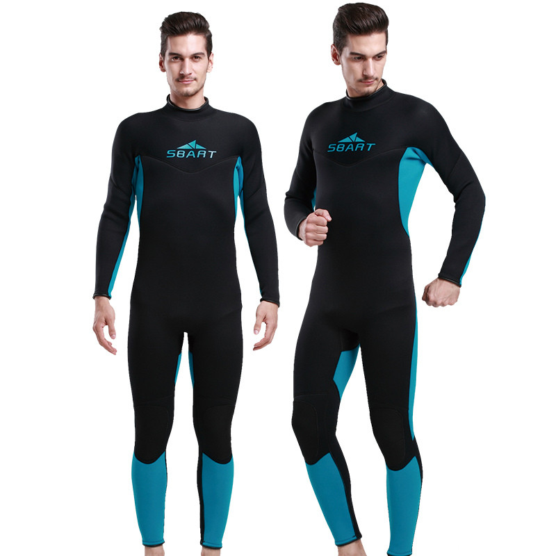 2017 Wetsuit For Swimming 3MM Neoprene Full Body Scuba Diving Surfing Triathlon Wetsuit Men Spearfishing Wetsuits N1017<br>