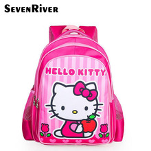 Baby Girls' Backpack Child School Bag Cartoon Hello Kitty Backpack Children Schoolbag For Kid Mochila Infantil