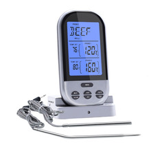 hottest sale Thermometer Kitchen Food Thermometer Electronic Display Thermometer Manufacturers Manufacture for free shipping(China)