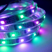 1m DC5V ws2801 Waterproof 32 Pixels led strip ribbon tape Arduino development ambilight TV  SMD5050 RGB magic dream color