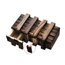 1 Set Kids Fun Wooden Open Big Magic Box Adult Wood Puzzle Disassembly Unlocking Organ Secrets Escape Creative Baby Game Gifts(China)