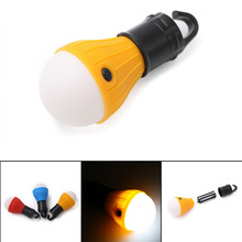 Outdoor Portable Hanging LED Camping Tent Light Bulb Fishing Lantern Lamp Torch 4 Colors Energy Saving Camping Light(China)
