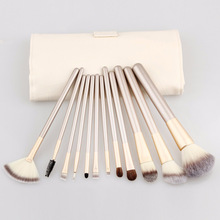 12pcs/Sets Explosive Champagne 12 Makeup Brush Make - up Make - up Appliances Fashion Makeup Brush Factory Direct
