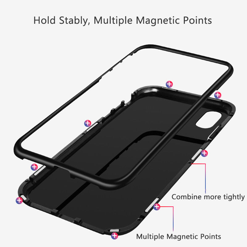 Magnetic case for iphone 8 (4)