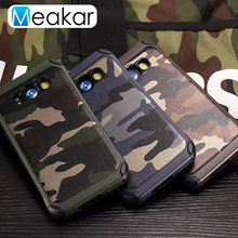 Camouflage Military Phone Case 5.5For Samsung Galaxy J7 2016 Case For Samsung Galaxy J7 2016 J710 Cell Phone Back Cover Case(China)