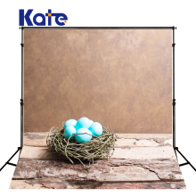 10X10ft Kate Fondo Photocall Infants Children Backgrounds Easter Basket Wooden Floor Fundo Fotografico Para Estudio Newborn(China)