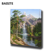 BAISITE Frameless DIY Oil Painting By Numbers Modern Wall Art Canvas Paintings For Living Room Home Decor Unique Gifts H327