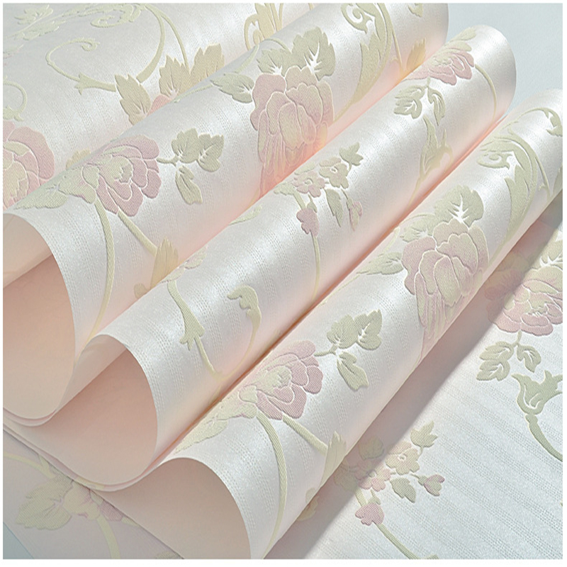 beibehang 3D three-dimensional thickening non-woven wallpaper wallpaper bedroom wallpaper living room sofa background wall<br>