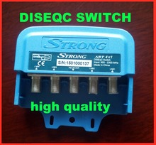 STRONG SRT4X1 DiSEqC Switch Satellites FTA TV LNB Switch For Satellite Receiver(China)