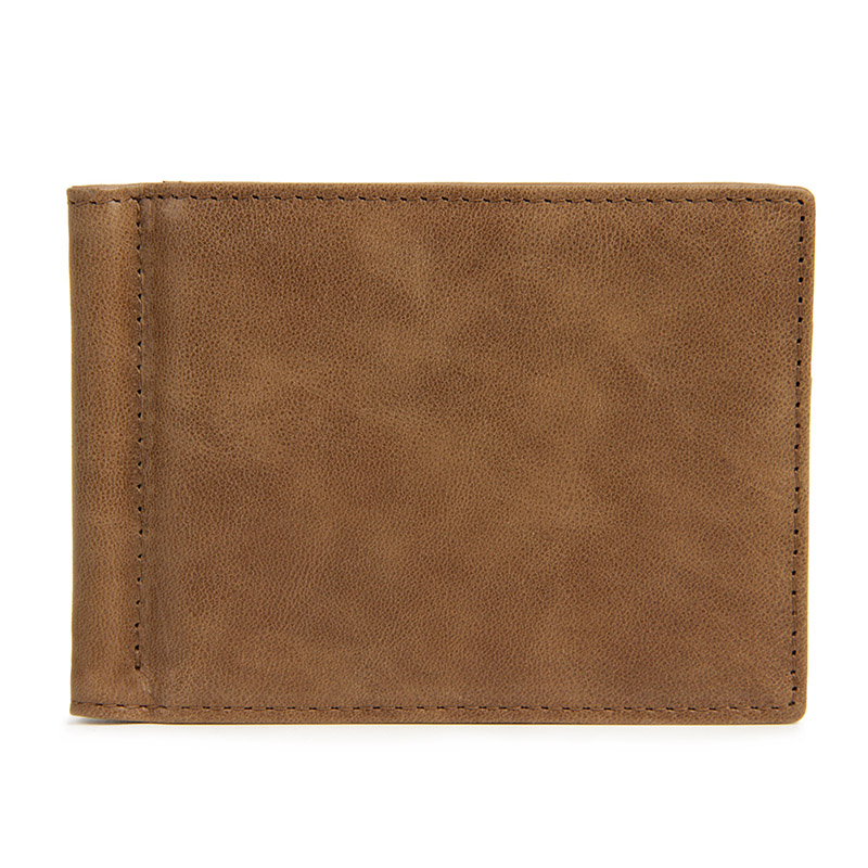 MJQJ003 men wallet khaki