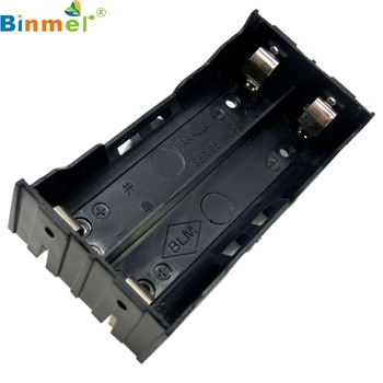 Binmer DIY Storage Box Holder Case For 2 X 18650 3.7V Rechargeable Battery 4 Pin