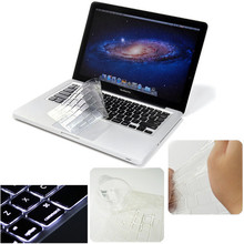 Best Price Ultra Thin Clear Soft TPU Keyboard Cover Skin Protector for Macbook Air 11 or 11.6 inch Dustproof  Waterproof