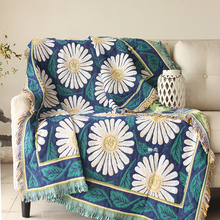 sofa towel blanket Daisy cover special offer thickened cotton sofa cloth sofa blanket slip bed