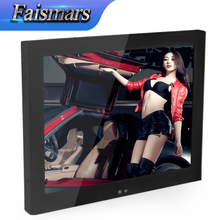 "Faismars M150-EF 15 inch Metal Case LCD Monitor Display With HDMI And USB Ports 15"" Embedded Frame Industrial Monitor With Gift"