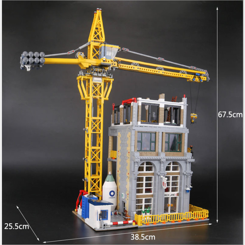 in-stock-lepin-15031-4425Pcs-Genuine-MOC-Series-The-Classic-Construction-site-Building-Blocks-Bricks-lepin