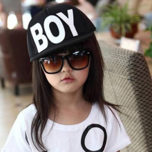 Children Baby Adjustable Skaterbord Boy Girl Kid Hat Baseball Hat Clothing Accessories BOY Letter Hat Cap Outdoor Sunhat(China)