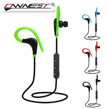 Ownest Wireless Sports Headphones 4.1 Bluetooth Ear Hook In Ear Handfree With Microphone Headset For iPhone Android Phone