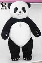 New Style Inflatable Costume Inflatable Panda For Advertising 2M Tall Customize For Adult Suitable For 1.6m To 1.8m Adult(China)