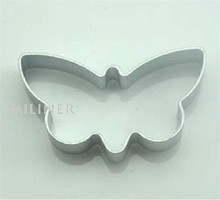 Aluminum Biscuit Mould Bakeware Butterfly Shape Fondant Cake Mold DIY Sugarcraft 3D Pastry Cookie Cutters