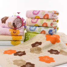 Factory direct towel high quality washing face floral towels set gym sport set towl hotel cheap beach bathroom towels