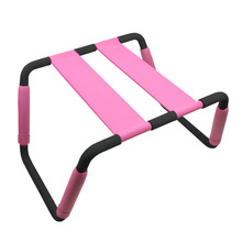 Powerful Multifunction Chair Weightless Pink Chair Fun Couple, Adult Sex Furniture Elastic Sex Chair, Erotic Toys(China)