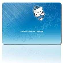 hello kitty mouse pad blue starry sky mousepad laptop anime mouse pad gear notbook computer gaming mouse pad gamer play mats(China)