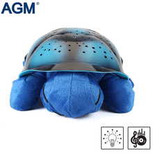 AGM Turtle LED Night Light Stars Projector Battery Operated Song Musical Luminaria Lamp For Baby Room Decoration Kid's Gift Toys