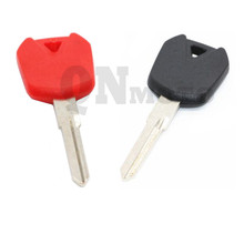 1 pcs Motorcycle Keys Blank For Kawasaki AX125 furAL 125R EX250 EX250R EX300 Red & Black