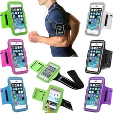 Waterproof Running Arm Band Phone Case For iPhone 7 7Plus Leather Case For iphone 6 6S Plus Phone Holder Pouch Belt GYM Cover
