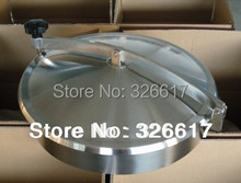 430mm Heavy Duty Round Manway, Non-pressure Manhole Cover, Stainless Steel 304 Food Grade Mandoor