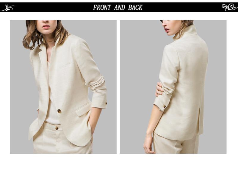 Lady Suit Jacket Office (3)