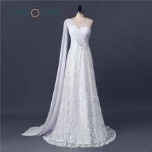 2017 New Vintage Lace off the shoulder Wedding Dresses Gowns White Lace Bridal Dresses robe mariee Beach Bridal Gown
