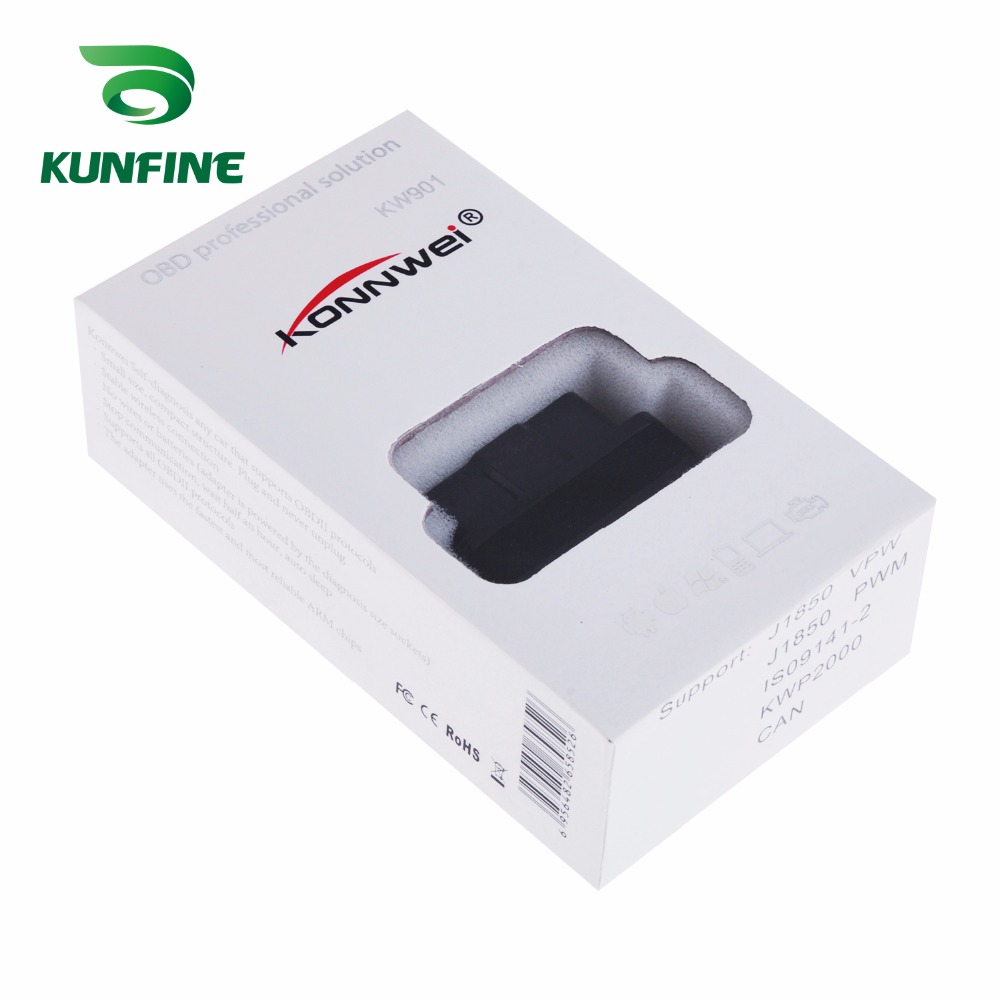 Auto Diagnostic Tool Car engine code Scanner Vehicle fault reader KF-A1184_8213