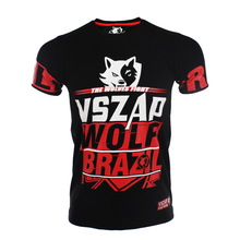 MMA short VSZAP fight mma rashguard short clothing sleeve T-shirt fight mma combat muay Thai mma t shirt cotton Elasticity