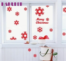 Kakuder Christmas Xmas Stickers 1PC Angel Snowflake Wall Window Vinyl Art Decals Home Decoration #10 2017 GIFT Drop