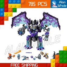 78Knight Stone Colossus Ultimate Destruction Model Building Blocks 14036 Assemble Bricks Toys Nexus Compatible Lego - Last Canvas store