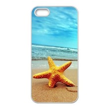 Beach Starfish Beautiful Sea Case for iPhone 4S 5S 5C 6 6S Plus Samsung Galaxy S3 S4 S5 Mini S6 Edge Plus A3 A5 A7 Note 2 3 4 5