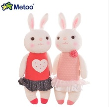 Metoo Original Tiramisu rabbit dolls plush kids toys 8 style,35cm Bunny Stuffed Animal Lamy Rabbit Toy gifts without Box