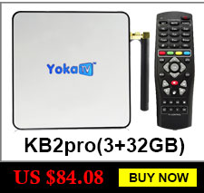 image for Original YOKA KB2 PRO Android 6.0 Octa Core Smart TV Box Amlogic S912