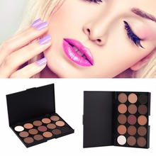 15 Colors Professional Eye Shadow Cosmetics Makeup Palette Eyeshadow Pallete Matte Pigments Make Up Tool 2017 Hot Selling