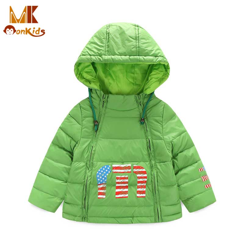 Monkids Girls Winter Coat Down Jacket for Girls Childrens Clothing Warm Hooded Coat&amp;Jackets Children Windbreaker ParkasОдежда и ак�е��уары<br><br><br>Aliexpress
