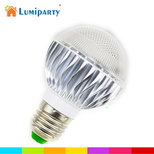 LumiParty New E27 3W RGB LED Light Bulb Colorful Bulb Remote Controlled with Standard Base Holiday Christmas Home Decoration(China)