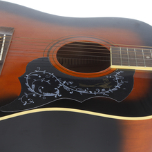 "Homeland Bird & Flowers Printed Electric Acoustic Guitar Pickguard For 41"" Size Guitar Pick Guard Plastic Accessories"