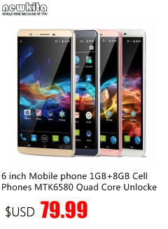 6 inch Mobile phone 1GB+8GB Cell Phones MTK6580 Quad Core Unlocked 3G Smartphone Android 5.1 Dual Camera 2MP+8MP Phablet