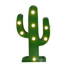 Led Cactus Love Red Heart And Other Modeling Lights To Create Festive Atmosphere To Promote The Atmosphere Of The Apparatus