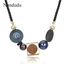 Nandudu New Arrival Choker Necklace Super Star Celebrity Style Women Girl Sweater Necklaces Fashion Jewelry Gift CN235